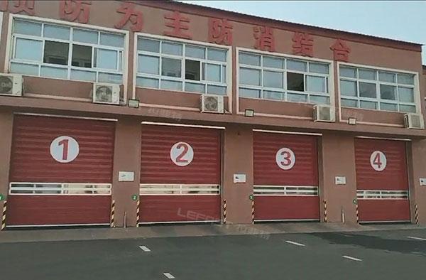 河北消防队硬质快速门